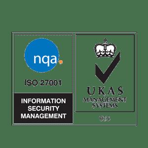 NQA and UKAS corporate logo