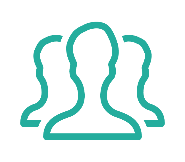 Unlimited participants icon